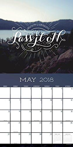 2018 Soar Wall Calendar