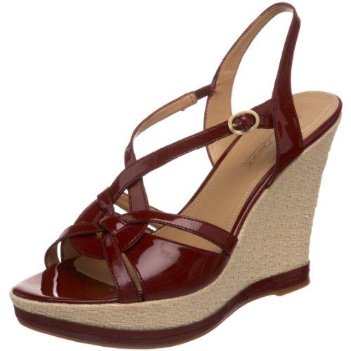 Circa Joan & David Womens Reace Wedge Sandal Red NTMfq1Vwf5