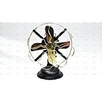 Sailors Art Brass Vintage Look Table Fan 13