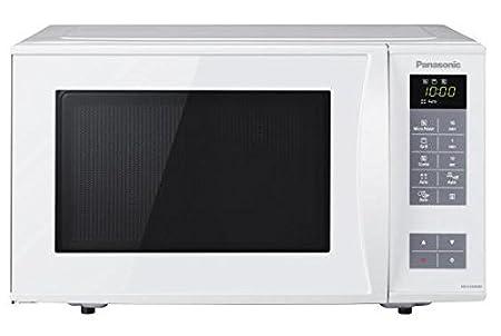 Panasonic NN-K354WMEPG Forno a Microonde Combinato Grill, 23 Litri, Potenza Micro 800 W a 5 Livelli, Potenza Grill 1000W a 2 Livelli, Bianco