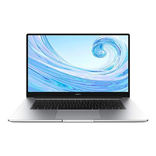 Huawei MateBook D 15.6'' Full View 1080P FHD Laptop, AMD Ryzen 5 3500U,8GB RAM, 256 GB SSD +1TB HDD, Windows 10 Home - Mystic Silver