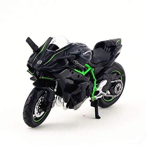 Amazon.com: FidgetGear 1:18 Scale Kawasaki H2R Motorcycle ...