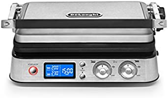 Delonghi Livenza All-Day Grill, Griddle & Waffle Maker