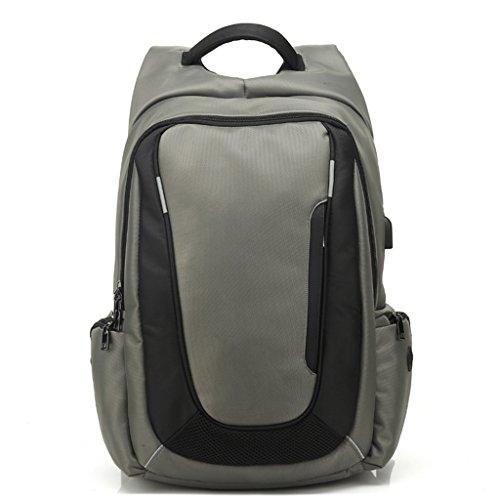 School Computer Grey High Bag Zcjb inch 17 Backpack Grey Students color Men Men's Business Capacity Travel Bags Young College 0BUqOUt