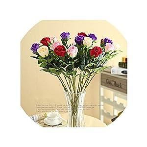 Artificial Flowers Rose Silk Flower Artificial Flowers Long Stem 76