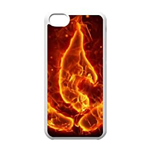 avatar fire nation iPhone 5c Cell Phone Case White yyfD-396395