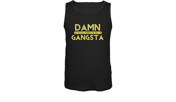 Damn It Feels Good To Be A Gangsta Black Adult Tank Top