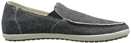 Chambray Hobo Men's On Sanuk Slip Black Rounder TX dgvxq0Ezq