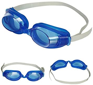 942422db40cbb Amazon.com : Water Sports Accessories, Kids Boy Girl Swimming Goggles  Waterproof Eyes Protector Swim Glasses Eyewear - Sapphire Blue : Beauty