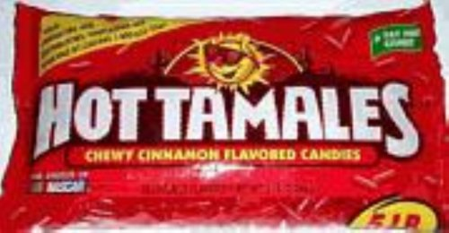 - Hot Tamales, 4.5 pounds Fierce cinnamon
