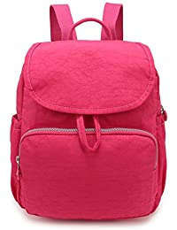 7a4736dbe1 Small Lightweight Waterproof Mini Backpack Purse Nylon Casual Travel  Daypack for Women