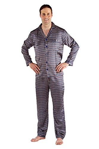 Para Harvey Pyjamas Pijama Navy Hombre James zEwRPEqa