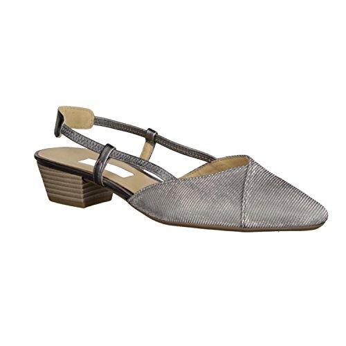 Gabor Sandalias de Vestir de Piel Para Mujer Gris Gris gris