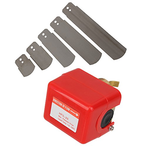 """BQLZR Red AC 250V 15A SPDT G1"""" Cooling System Water Paddle Flow Control Switch"""