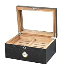 Quality Importers Milano Glasstop Humidor