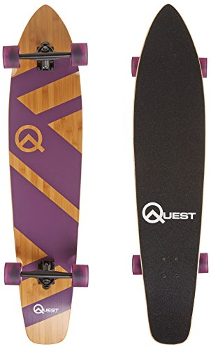 The Quest Super Cruiser Purple Artisan Bamboo and Maple 44