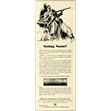 1932 Ad Abercrombie & Fitch Co. Store cartridge Hunting - Original Print Ad