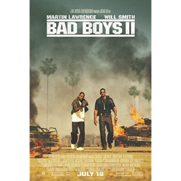 Bad Boys for Life black letters Multiple Sizes Movie Poster 2020