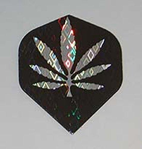 US Darts - 3 sets (9 flights) of MARIJUANA, WEED Standard holographic dart flights