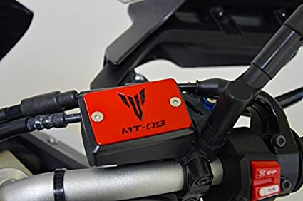 Yamaha Mt 09 Mt Tracer Cover Brake Fluid Container Red Auto