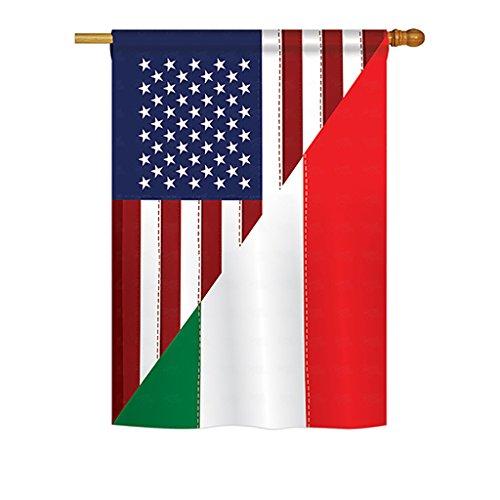 italian american flag - 1