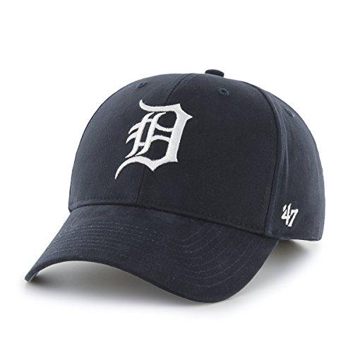 MLB Detroit Tigers Infant '47 Basic MVP Adjustable Hat, Home Color