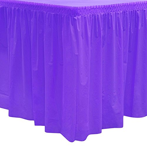 Party Essentials 529 Plastic Table Skirt, 168