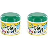 Play Visions Crayola Bath Dropz 2.68 oz,45 tablets (Pack of 2)