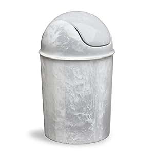 Umbra Mini Waste Can White Onyx Amazon Ca Home Amp Kitchen