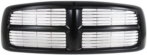 ck Grill Assembly with Chrome Insert for 2002 - 2005 Dodge Ram ()