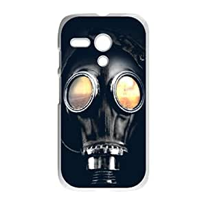 Motorola G Cell Phone Case White Doomsday Watcher Plastic Custom Case OHT
