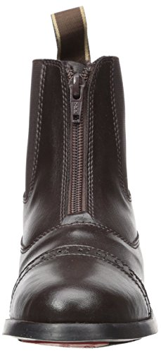 Equistar - Child's Zip Paddock Boot (All Weather) 5 Brown