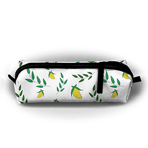 Kui Ju Portable Big Capacity Pencil Case Mango