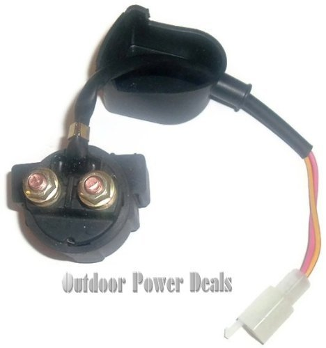 New Scooter Starter Relay Solenoid for GY6 50cc 125cc 150cc ATV Garden, Lawn, Supply, Maintenance (Gy6 Starter 50cc compare prices)