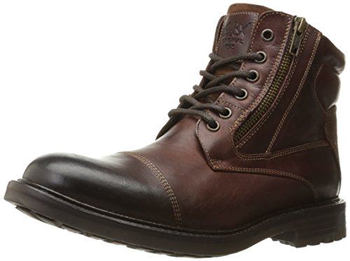 GBX Men's Tomson Ankle Bootie Brown 9 M US
