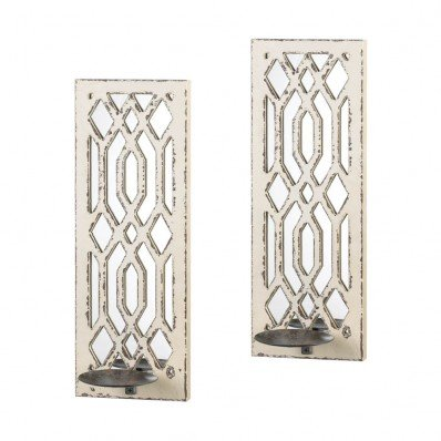 (Gallery of Light 10017331 Deco Mirror Wall Sconce Set, Multicolor)