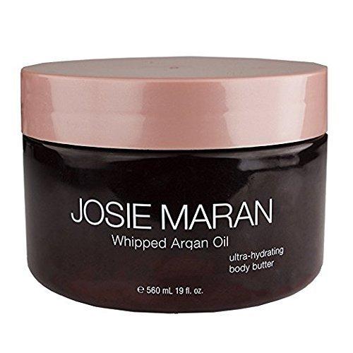Josie Maran Whipped Argan Oil Ultra-Hydrating Body Butter (19 fl oz./560 ml, Vanilla Almond)