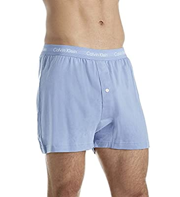 Calvin Klein Men's Underwear Cotton Classics 3 Pack Knit Boxers