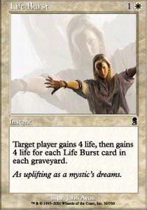 Magic The Gathering - Life Burst - Odyssey from Magic The Gathering