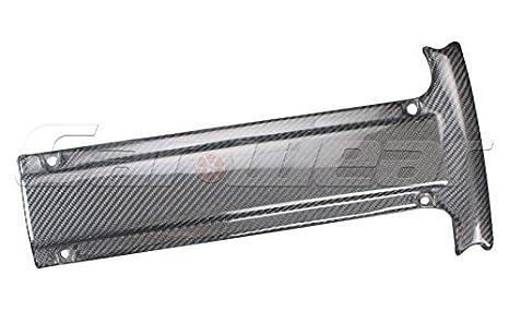 Para Mitsubishi Evo 7 8 9 Bujía de fibra de carbono Motor para 2003 - 2007: Amazon.es: Coche y moto