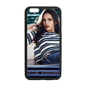 iPhone 6 Plus Case, [Nina Dobrev] iPhone 6 Plus (5.5) Case Custom Durable Case Cover for iPhone6 TPU case(Laser Technology)