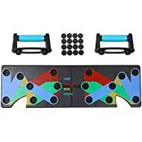 St. Lun Explopur Push-up Stands,Household Multifunction Push Up Rack Board,9 System Comprehensive Exercise Workout Body…