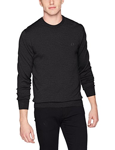 Rond Col Black Noir Perry Pull Marl Fred 1wq0p1