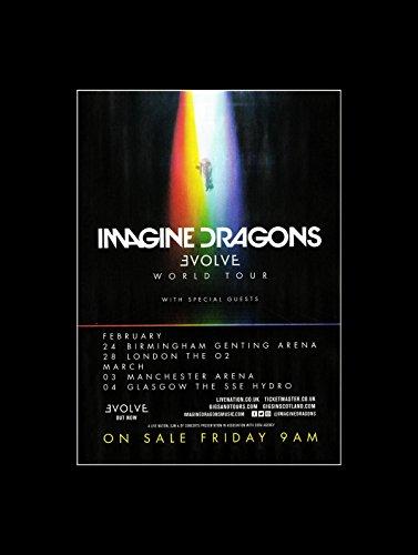 Imagine Dragons - Evolve World Tour 2018 Mini Poster - 40.5x30.5cm