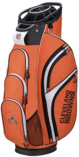 (Wilson 2018 NFL Golf Cart Bag, Cleveland Browns)