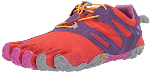 Vibram FiveFingers V-Trail, Women's Trail Running Shoes, Orange (Magenta/Orange), 5-5.5 UK (36 EU) by Vibram (Image #1)