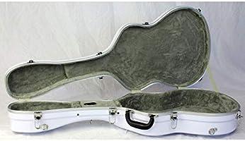 Estuche ABS para Guitarra Clásica, marca Cibeles (Blanco Brillante): Amazon.es: Instrumentos musicales