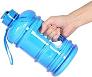 2.2L Large Capacity Sports Water Bottle Gym Drinking Water Bottle Camping Cup Portable Outdoor Big Bottle