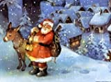 Ankunft Des Weihnachtsmanns
