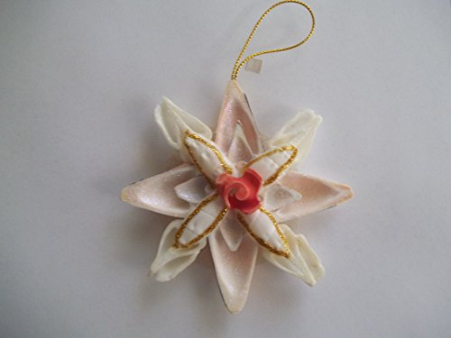 Capiz Sea Shell Flower Christmas Ornament Nautical Beach ()